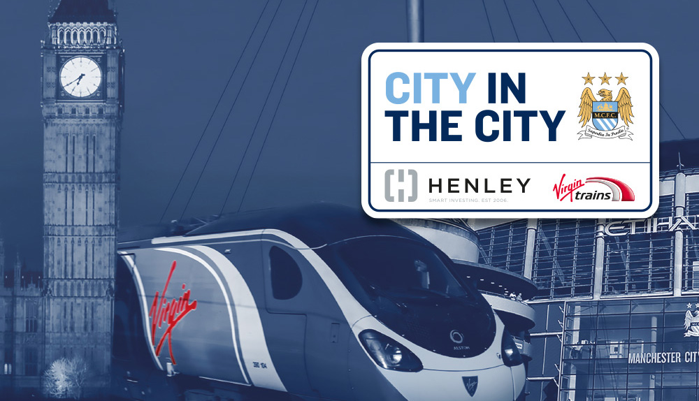 City in the City Logo and Virgin Trains