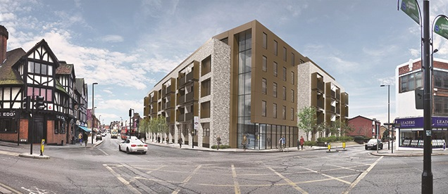 Inspired lands development loan from Henley for Coombe Cross Croydon project
