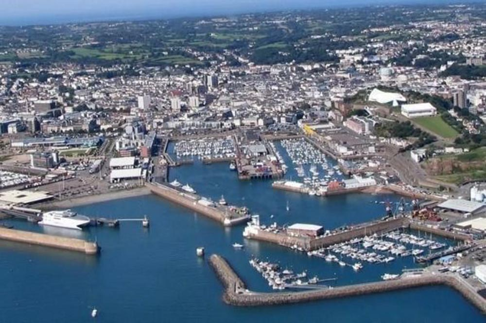 A colour image of St Helier Jersey where Henley Investments have purchased Charter Place