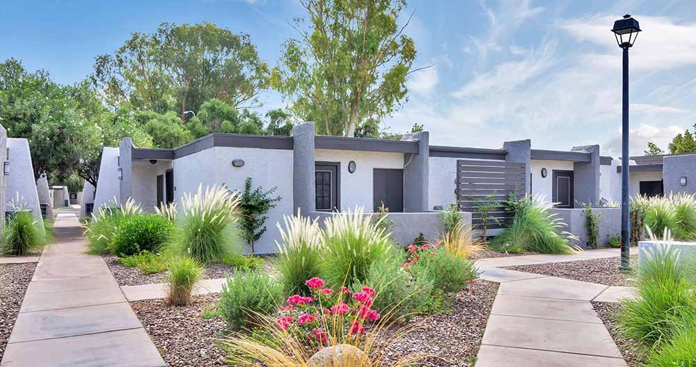 A colour image of one of the Henley Modern Residential multi-family communities sold in May 2019