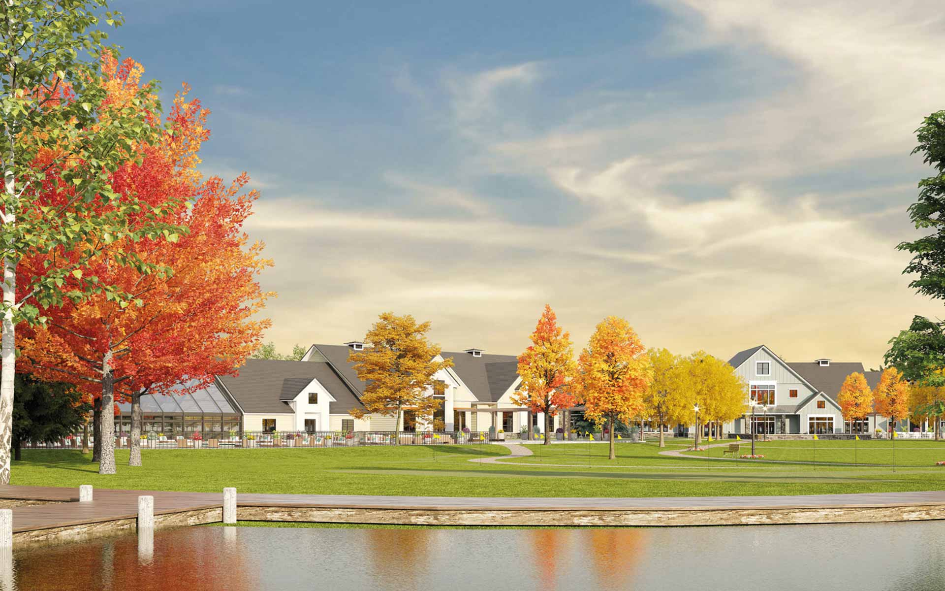 An image of the Rock Creek development owned by Henley Investments Masterplan & Land Infrastructure